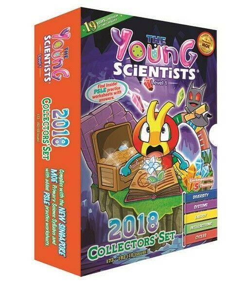 Young Scientist 2018 collectors' set level 1