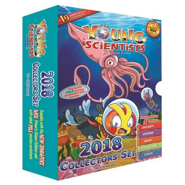 Young Scientist 2018 collectors' set level 2