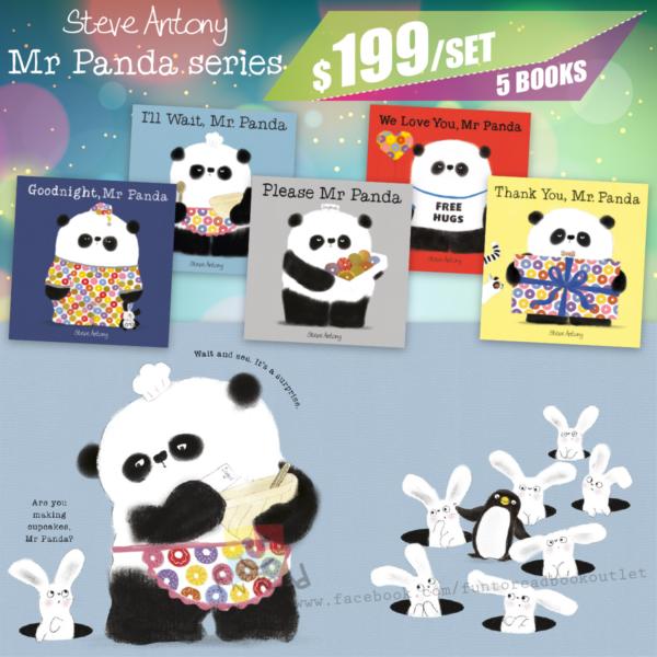 steve antony-mr panda