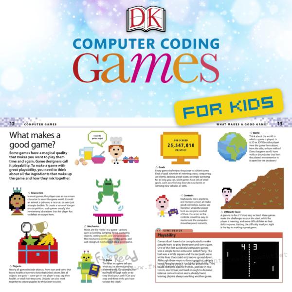 dk computer coding games-inside