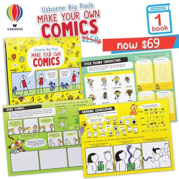 Usborne Make Your Own Comics