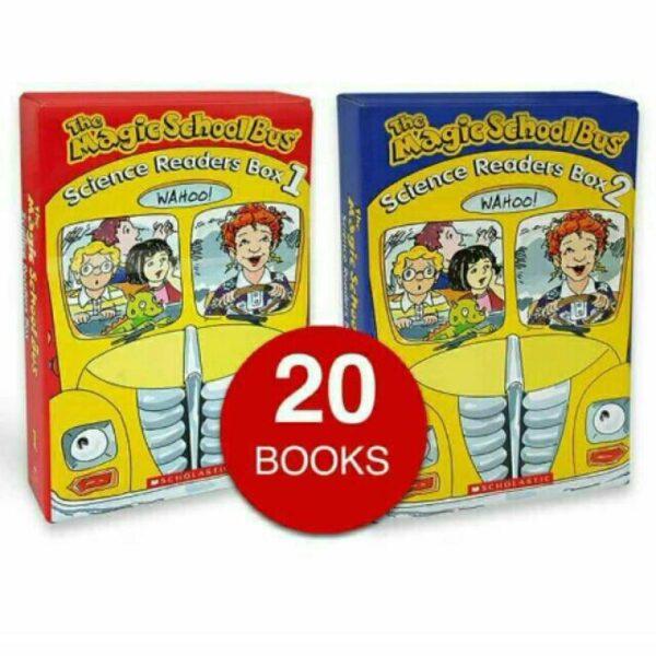 Magic School Bus Science Readers Box 1+Box2