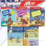 a crabby book collection