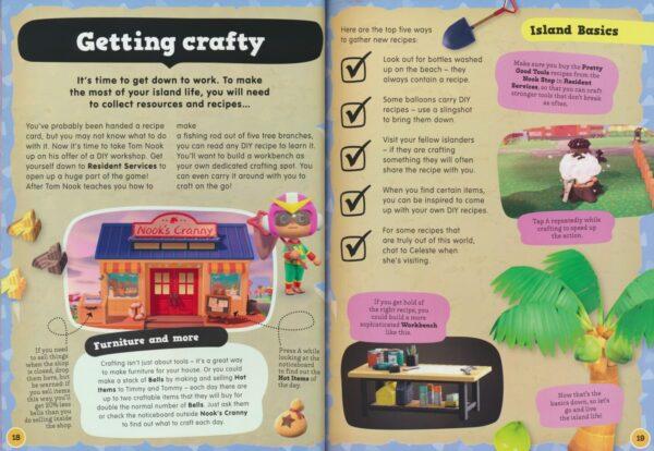 Animal Crossing New Horizons Residents' handbook # 9780753447079 3