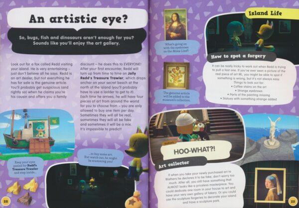 Animal Crossing New Horizons Residents' handbook # 9780753447079 4