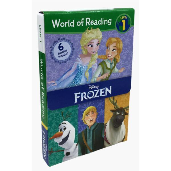 World of Reading Frozen Boxed Set – Level 1 – 9781484737712