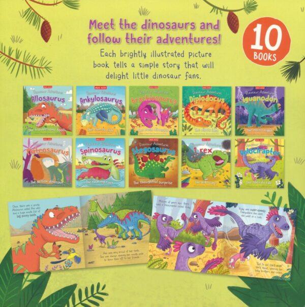 Dinosaur Adventures Bag Collection Set(10 Books ) # 9781789890419