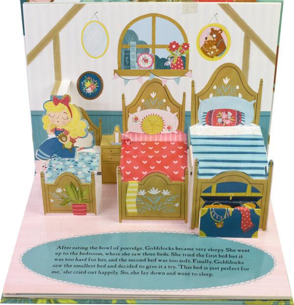 Fairy Tale Pop-Up Book Goldilocks and The Three Bears