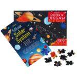 Usborne book and jigsaw solar system 1