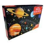 Usborne book and jigsaw solar system