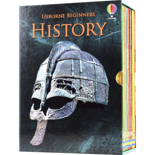 Usborne Beginners History (10 Books) # 9781474929097