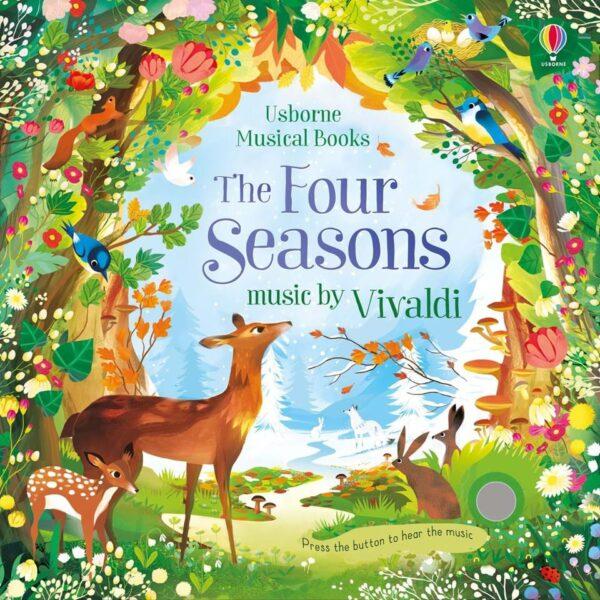 usborne musical books – the four seasons music by vivaldi