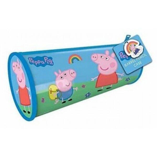 peppa pig barrel pencil case