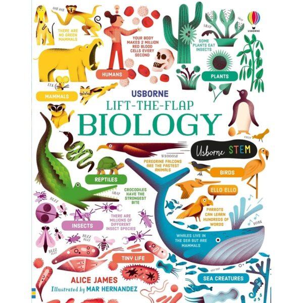 usborne lift the flap biology